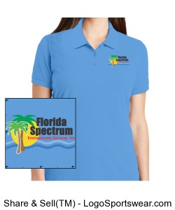Florida-Environmental Printed Logo Ladies Logo Design Zoom